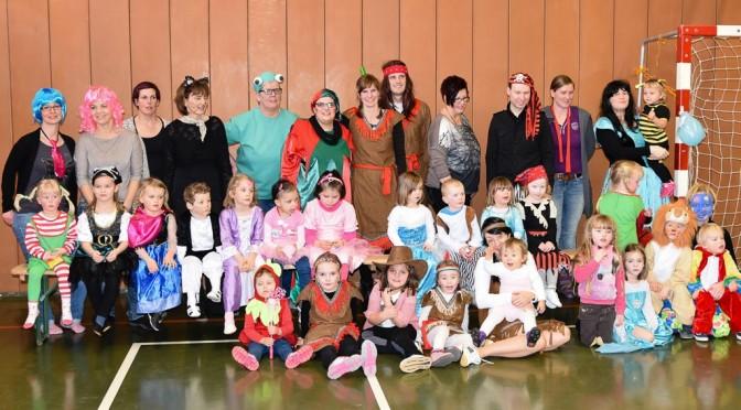 Kinderkarneval beim FC Herta