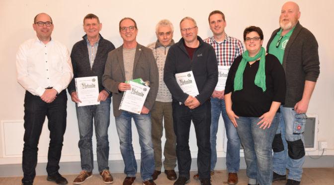 FC Herta Lütgenade/Warbsen ehrt langjährige Mitglieder